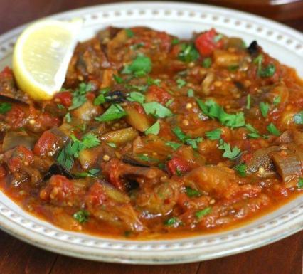 Caviart d_aubergines à la marocaine (Zaalouk)
